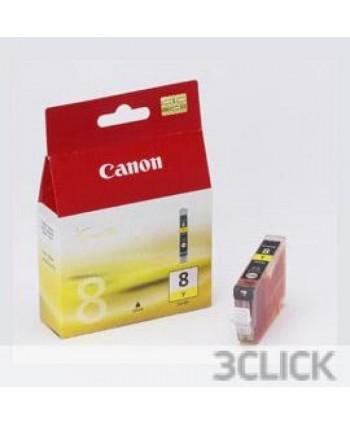 CARTUCCIA CANON CLI-8Y GIALLO ORIGINALE (Cod. 0623B001)