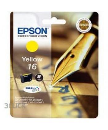 CARTUCCIA EPSON 16 GIALLO ORIGINALE (Cod. T1624)