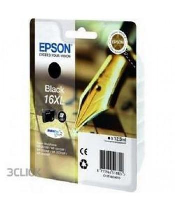 CARTUCCIA EPSON 16XL NERO ORIGINALE (Cod. T1631)