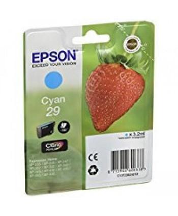 CARTUCCIA EPSON 29 CYANO ORIGINALE (Cod. T2982)