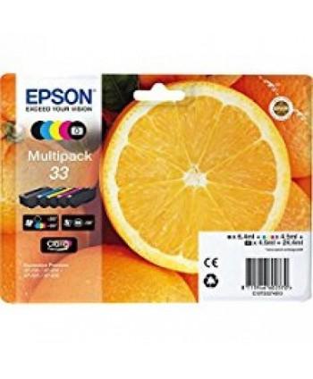 CARTUCCIA EPSON 33 MULTIPACK ORIGINALE (Cod. T333)