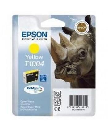 CARTUCCIA EPSON C13T10044010 GIALLO ORIGINALE (Cod. T1004)