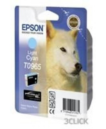 CARTUCCIA EPSON R2880 CIANO CHIARO ORIGINALE (Cod. T0965)