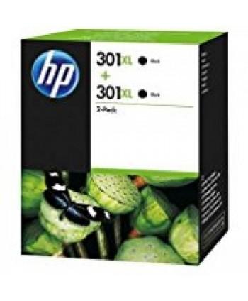 CARTUCCIA HP 301XL NERO CONFEZIONE DOPPIA ORIGINALE (Cod. D8J45AE)