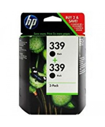 CARTUCCIA HP 339 NERO BIPACK ORIGINALE (Cod. C9504EE)